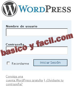 password-wordpress