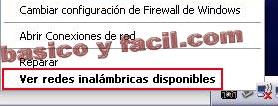 Conectarse a una red wifi con Windows XP Wifi2