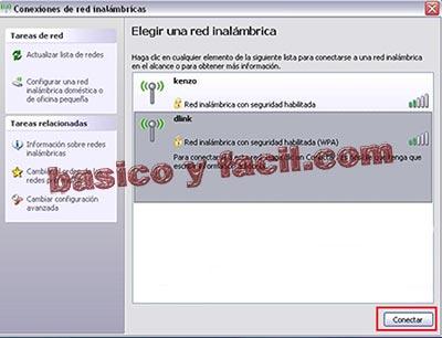 Conectarse a una red wifi con Windows XP Wifi3