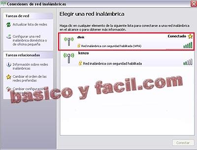 Conectarse a una red wifi con Windows XP Wifi52