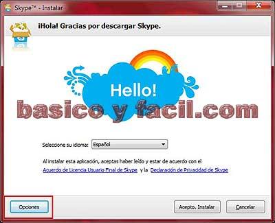descargar skype para ordenador