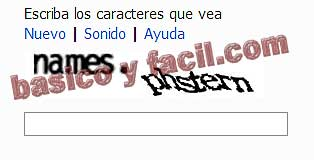 captcha hotmail