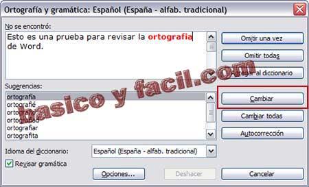 Revisar Y Corregir La Ortografia En Word Y Writer Basico Y Facil