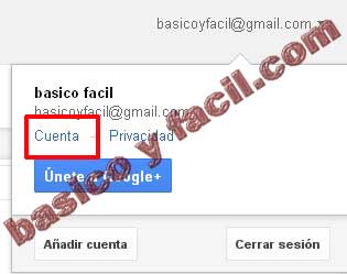 activar verificacion gmail