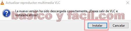 actualizar VLC